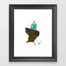 El Malecón Framed Art Print