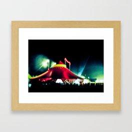 The big top Framed Art Print