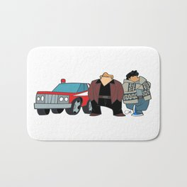 Cops Bath Mat