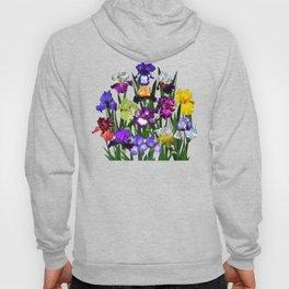 Iris garden Hoody