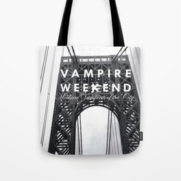 Vampire Weekend / George Washington Bridge Tote Bag