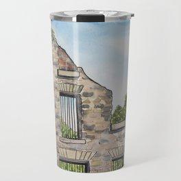 Ruins in the summertime Travel Mug