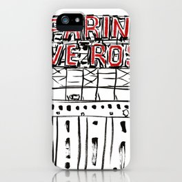Five Roses iPhone Case