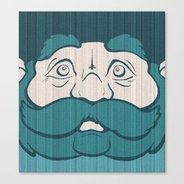 Bluebeard the Unfeigned Canvas Print