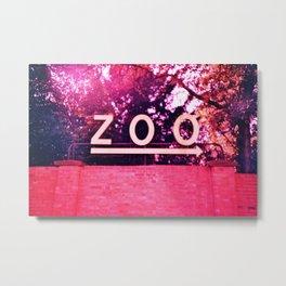 Zoo Metal Print