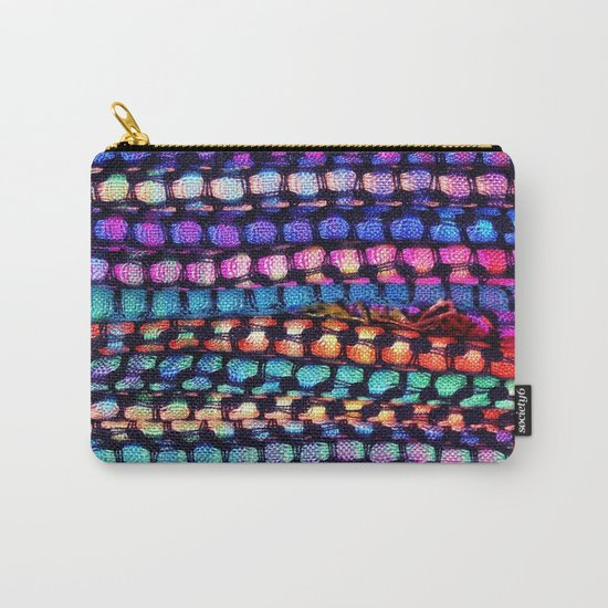 Colourful Layers  - JUSTART ©, edited photography Carry-All Pouch