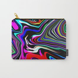 Comic Abstract Background Carry-All Pouch