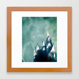 The Misty Mountains Framed Art Print