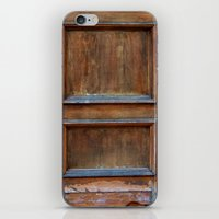 doors iPhone & iPod Skins featuring Doors by Jessica Jimerson
