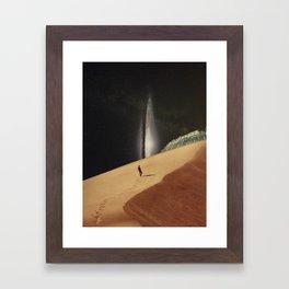 Lost In Your Memories Framed Art Print