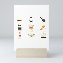 Seaman Essentials National Maritime Day Mini Art Print