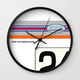 SRCPreparations No24 Carter Wall Clock