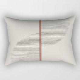 Geometric Composition II Rectangular Pillow