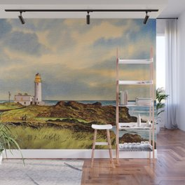Turnberry Golf Course Scotland 9th Tee Wall Mural
