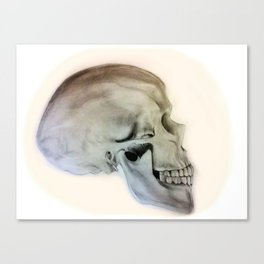 Side Skull Canvas Print