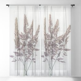 Velvet Grass Sheer Curtain