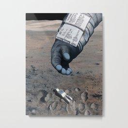 Man of the Moon Metal Print