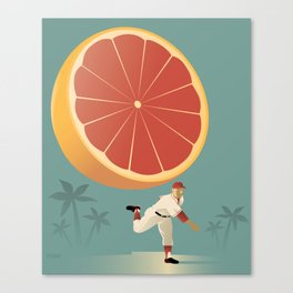 Grapefruit League Canvas Print
