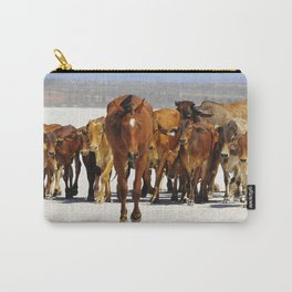 Pony leading the mob home Carry-All Pouch