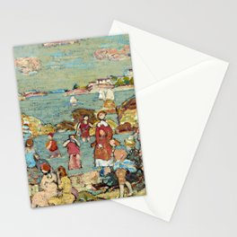 """Maurice Prendergast """"The Seashore"""" Stationery Cards"""