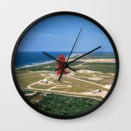 Aerial photo Pad 34 overall low-level from south Wall Clock