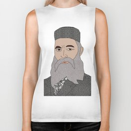 No Ban No Wall | Art Series - The Jewish Diaspora 005 Biker Tank