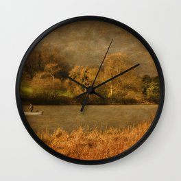 Thornton Reservoir, Leicestershire Wall Clock