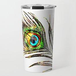 pluma de pavo real ( peacock feather ) Travel Mug