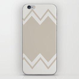 Beige-Chevron iPhone Skin