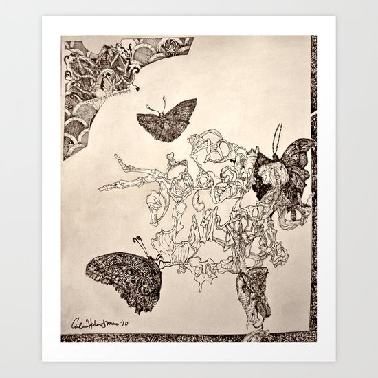 Mission Metamorphosis Art Print