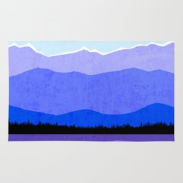 Blue Ridge Mountains Rug