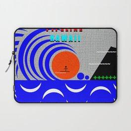 Pipeline Hawaii stickman design A Laptop Sleeve
