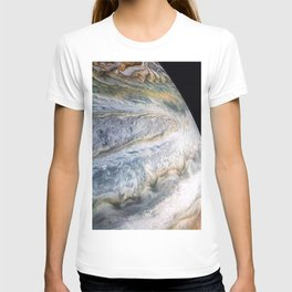 Jupiter Surface Long Range Fly-By Telescopic Photograph T-shirt