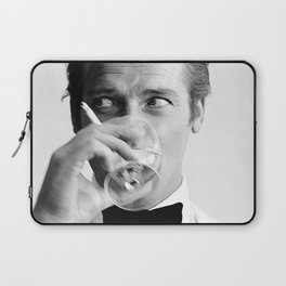 Roger Moore Cool Laptop Sleeve