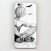 desert iPhone & iPod Skins featuring Desert by Deusexmuraena
