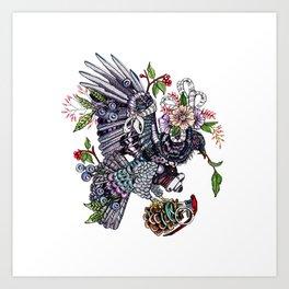 War Pigeon Art Print