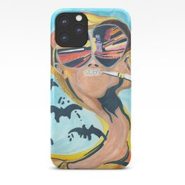 Fear and Loathing in Las Vegas Watercolor iPhone Case