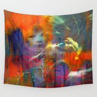 returns Wall Tapestries featuring Fast mom returns by Joe Ganech