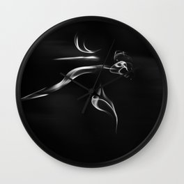 The Ghost Wall Clock