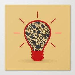 Food a bulb Canvas Print