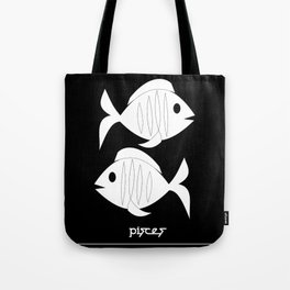 Fishes ~ Pisces ~ Zodiac series Tote Bag