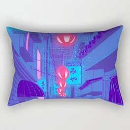 Shibuya Nights Rectangular Pillow