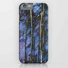 Snowy Forest Night iPhone 6s Slim Case