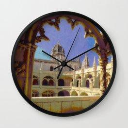 Mosteiro dos Jeronimos, Belem Wall Clock