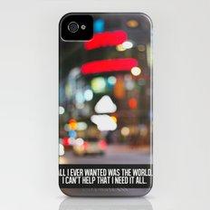 marina + the diamonds - world. iPhone (4, 4s) Slim Case