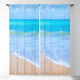 Bright Beach Blackout Curtain