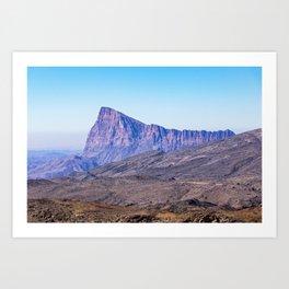 Oman: Mountain near Jebel Shams Art Print