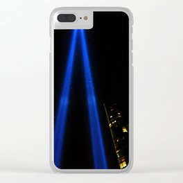 9/11 Tribute Clear iPhone Case
