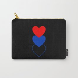 Polyamory in Shapes Carry-All Pouch