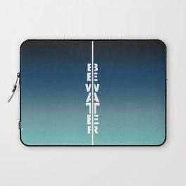 Gradient Be water Laptop Sleeve